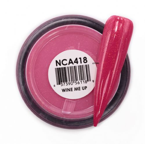 GLAM AND GLITS NAKED COLOR ACRYLIC -NCAC418 WINE ME UP